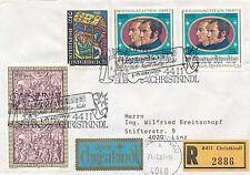 Christkindl Reco-Brief  22.12.1987  LZ Linz   14/12/14