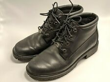 Timberland Womens Size 6.5 M Black Waterproof Leather Boots