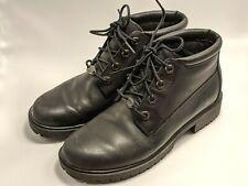 Timberland Womens Size 6.5 M Black Waterproof Leather Boots