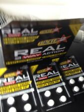 Real Stacker 2Way Action Energize 2 Energy Boost Metabolism 12 packs 48 tablets