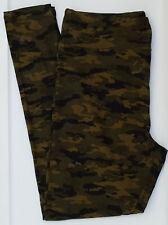 TC LuLaRoe Tall & Curvy Leggings Gorgeous Camo Camouflage Green Black NWT E12