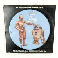 The Story Of Star Wars Picture Disc Record LP Album 1977 Vinyl Vader 3PO R2D2