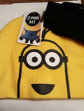 DESPICABLE ME HAT AND GLOVE Set NEW WITH TAGS