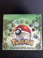 Pokemon 1st Edition Jungle Booster Box - WOTC 1999 - Factory Sealed