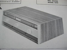 BELL SOUND 2441 TUNER RECEIVER PHOTOFACTS PHOTOFACT