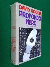 David GOODIS - PROFONDO NERO , 1° Ed Omnibus Gialli (1989) Pintér