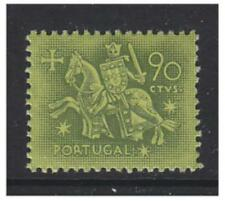 Portugal - 1953/71, 90c Medieval Knight stamp - L/M - SG 1083