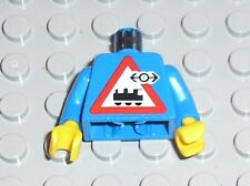 Buste LEGO TRAIN minifig torso ref 973px30 / Set 4556 4560 4561 Railway Express