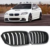 For BMW M5 F10 F11 Matte Black Front Bumper Grille Kidney 2010-2015 528i 535i