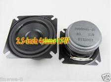 """1pcs For AURA HIFI 2.5""""inch Full-range speaker Loudspeaker 15 watts 4 Ohms"""