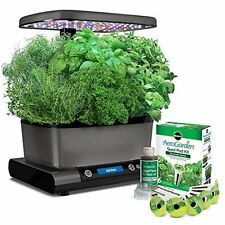 Miracle-Gro AeroGarden Extra (LED) with Gourmet Herb Seed Pod Kit kitchen garden