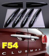 US STOCK Set 6 PIANO BLACK Door Handle Covers MINI Cooper F54 CLUBMAN Barn Split