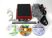 Nintendo Wii Mini Red VL-201 Video Game Console Bundle + 3 FREE GAMES!!!!