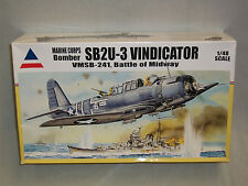 Accurate Miniatures 1/48 Vought SB2U-3 Vindicator VMSB-241, Battle Of Midway