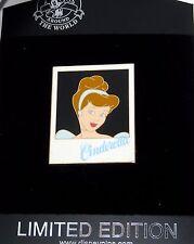 Le 250 Disney Pin ✿ Cinderella Polaroid Picture Frame Signature Autograph Series