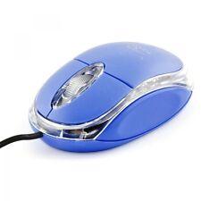 Mouse Ottico Con Filo Usb 3.0 Con Led Blu Pc Notebook hsb