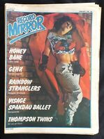 Record Mirror February 7 1981 Honey Bane Generation X Visage Spandau Rainbow