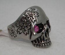 Rhinestone Stainless Steel Fashion Rings