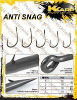 Amo Trabucco K-Karp Anti-Snag con occhiello Carpfishing