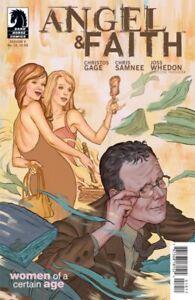 ANGEL & FAITH SEASON 9 #10 STEVE MORRIS COVER DARK HORSE COMICS 2012