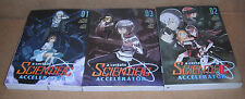 A Certain Scientific Accelerator Vol. 1,2,3 Graphic Novels Manga Set English