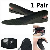 1Pair 5cm Shoe Lift Height Increase Heel Lifts Insoles Taller Air Bubble Cushion