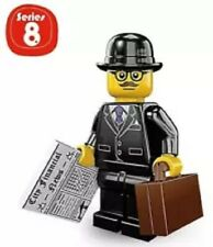 """LEGO MINIFIGURES SERIES 8 ~ THE """"BUSINESSMAN""""  (SEALED PACK) 2012 / RETIRED"""