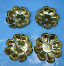 Lot of   6   Vintage Fanciest    CHANDELIER   LAMP   BOBECHES  Brass