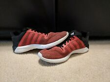 Mens Adidas CC Fresh Running Shoes size 10; Red and Black