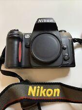 Nikon N80 35Mm Film Camera Body, Condition Is Good