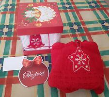 Set 2 strofinacci tema natalizio - idea regalo natale