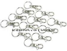 12X Gros Mousqueton Bracelet Chaîne Porte-clé Attache fermoir Bijoux DIY