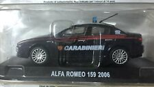 Carabinieri Alfa Romeo 159 2006 Automobile 1:43 Modellino Auto 1/43 NEW