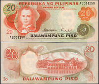 FILIPINAS BILLETE 20 PISO. ND (1970) LUJO. Cat# P.150a