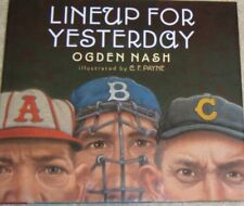 Lineup for Yesterday by Ogden Nash (2011, Hardcover) SIGNED BOOK-FREE SHIPPING