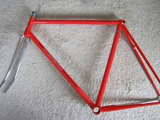 COLNAGO PISTA/TRACK, BEAUTIFUL ENGRAVED FRAMESET, RED, 52/53cm