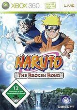 Naruto - The Broken Bond von Ubisoft   Game   Zustand akzeptabel