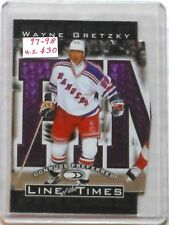 """1997/98 Gretzky Donruss Preferred """"Line Of The Times"""" Card #6-A"""