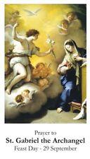 St Gabriel the Archangel (Wallet Size)