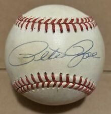 Pete Rose Philadelphia Phillies Signed Autographed ROMLB Baseball JSA COA