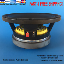 "replacement speaker for RCF/EAW L10/750YK 10"" line array speaker 700 watts 8ohms"