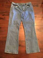 LRL Lauren Raulph Lauren Jeans, size 16 wide boot cut light wash