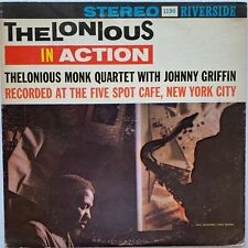 Vintage Stereo Riverside Pressing - MONK Thelonious In Action - RLP 1190 VG+