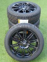 """GENUINE LAND ROVER DISCOVERY 4/3 20""""INCH HSE BLACK ALLOY WHEELS+PIRELLI TYRES X4"""
