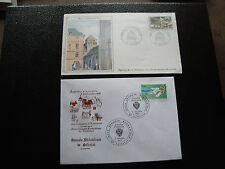 FRANCE - 2 enveloppes 1981 1987 (selestat/redon) (cy58) french