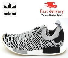 Adidas Originals NMD R1 STLT KNITTED Trainers Grey/White/Black NEW IN BOX!