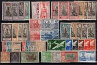 132952/ FRENCH INDIA STAMPS – YEARS 1892 - 1942 MINT MNH / MH / MNG – CV 120 $
