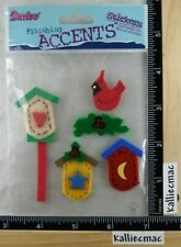 Darcie CHRISTMAS BIRDHOUSE Stickers FUN FELT STICKERS