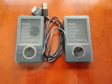 Two Microsoft Zune 30 Brown (30 Gb) Digital Media Players