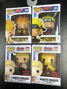 Rare funko pop! Anime: Naruto's whole series is rare, with protective shell